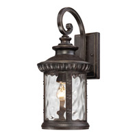 Quoizel Chimera 1 Light Outdoor Wall Lantern in Imperial Bronze CHI8409IBFL
