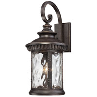 Quoizel Lighting Chimera 1 Light Outdoor Wall Lantern in Imperial Bronze CHI8411IB