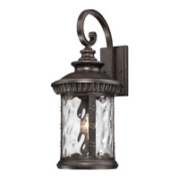 Quoizel Chimera 1 Light Outdoor Wall Lantern in Imperial Bronze CHI8411IBFL