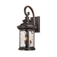Quoizel Lighting Chimera 4 Light Outdoor Wall Lantern in Imperial Bronze CHI8413IB