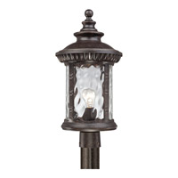 Quoizel Chimera 1 Light Outdoor Post Lantern in Imperial Bronze CHI9011IBFL