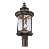 Quoizel Lighting Chimera 1 Light Outdoor Post Lantern in Imperial Bronze CHI9011IB alternative photo thumbnail
