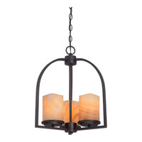 Quoizel Lighting Aldora 3 Light Chandelier in Palladian Bronze CKAD5003PN