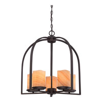 Quoizel Lighting Aldora 5 Light Chandelier in Palladian Bronze CKAD5005PN