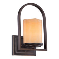Quoizel Lighting Aldora 1 Light Wall Sconce in Palladian Bronze CKAD8701PN