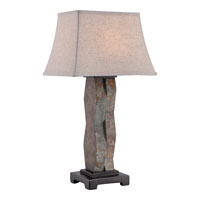 Quoizel Lighting Brodrick 1 Light Outdoor Table Lamp CKBK1744T