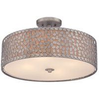 Quoizel CKCF1720OS Confetti 4 Light 20 inch Old Silver Semi-Flush Mount Ceiling Light alternative photo thumbnail