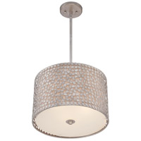 Quoizel CKCF2816OS Confetti 3 Light 16 inch Old Silver Pendant Ceiling Light alternative photo thumbnail