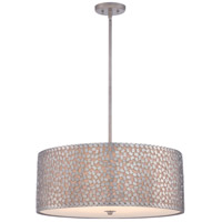 Quoizel CKCF2825OS Confetti 5 Light 25 inch Old Silver Pendant Ceiling Light