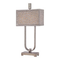 Quoizel CKCF6330OS Confetti 30 inch 75 watt Old Silver Table Lamp Portable Light alternative photo thumbnail