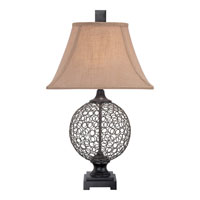 Quoizel Lighting Enfield 1 Light Table Lamp CKEF1748T