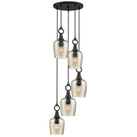 Quoizel CKKD2718WT Kendrick 5 Light 18 inch Western Bronze Pendant Ceiling Light