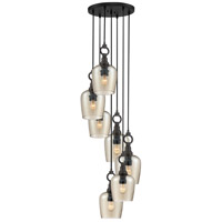 Quoizel CKKD2719WT Kendrick 7 Light 19 inch Western Bronze Pendant Ceiling Light