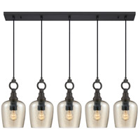 Quoizel CKKD543WT Kendrick 5 Light 43 inch Western Bronze Island Chandelier Ceiling Light