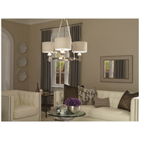 Quoizel CKMO5003BN Metro 3 Light 34 inch Brushed Nickel Chandelier Ceiling Light alternative photo thumbnail