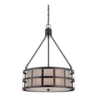 Quoizel Lighting Marisol 4 Light Pendant in Teco Marrone CKMS2822TM