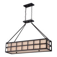 Marisol 5 Light 42 inch Teco Marrone Island Light Ceiling Light