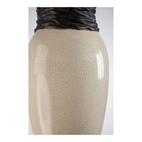 Quoizel Lighting Martino 1 Light Table Lamp in Cream and Chocolate Brown CKMT1469T alternative photo thumbnail