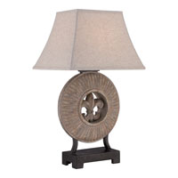 Quoizel Lighting Torrin 1 Light Outdoor Table Lamp CKTN1742T