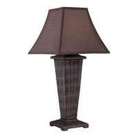 Quoizel Weaver 1 Light Outdoor Table Lamp CKWR1745T