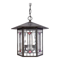 Quoizel Lighting Chaparral 3 Light Outdoor Hanging Lantern in Medici Bronze CL1264Z alternative photo thumbnail
