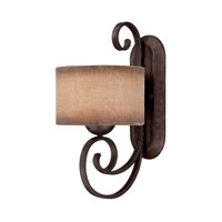 Quoizel Lighting Carlsbad 1 Light Wall Sconce in Old Bronze CLS8601OZ