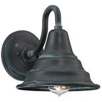 Quoizel CML8409AGV Carmel 1 Light 9 inch Aged Verde Outdoor Wall Lantern