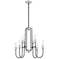 Quoizel CNL5008EK Channel 8 Light 26 inch Earth Black Chandelier Ceiling Light