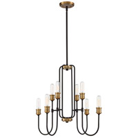 Quoizel CNL5008WT Channel 8 Light 26 inch Western Bronze Chandelier Ceiling Light