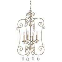 Quoizel CNT5204VG Chantelle 4 Light 21 inch Vintage Gold Foyer Pendant Ceiling Light