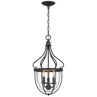 Quoizel CNY5203GK Colony 3 Light 11 inch Grey Ash Foyer Chandelier Ceiling Light