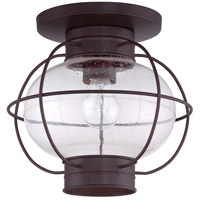 Quoizel COR1611CU Cooper 1 Light 12 inch Copper Bronze Outdoor Flush Mount alternative photo thumbnail