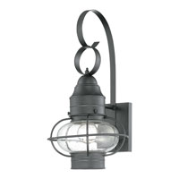 Quoizel COR8409K Cooper 1 Light 18 inch Mystic Black Outdoor Wall Lantern in Standard alternative photo thumbnail