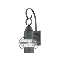 Cooper 1 Light 21 inch Mystic Black Outdoor Wall Lantern in Standard
