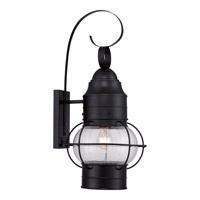 Quoizel Cooper 1 Light Outdoor Wall in Mystic Black COR8412K