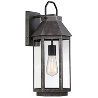 Quoizel CPB8408SPB Campbell 1 Light 18 inch Speckled Black Outdoor Wall Light