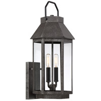 Quoizel CPB8409SPB Campbell 2 Light 21 inch Speckled Black Outdoor Wall Light
