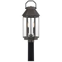Quoizel CPB9009SPB Campbell 2 Light 22 inch Speckled Black Outdoor Post Light