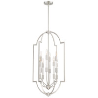 Chapel 8 Light 20 inch Brushed Nickel Foyer Chandelier Ceiling Light