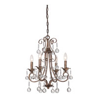 Quoizel Capulin 4 Light Chandelier in Empire Gold CPN5004EG