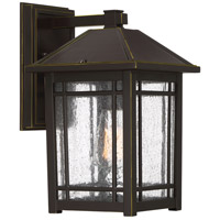 Quoizel CPT8408PN Cedar Point 1 Light 13 inch Palladian Bronze Outdoor Wall Lantern