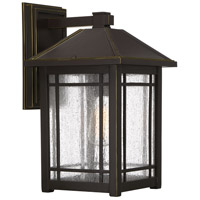 Quoizel CPT8410PN Cedar Point 1 Light 17 inch Palladian Bronze Outdoor Wall Lantern