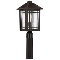 Quoizel CPT9010PN Cedar Point 1 Light 18 inch Palladian Bronze Outdoor Post Lantern