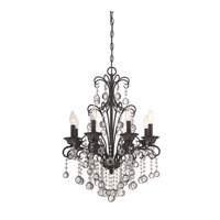 Quoizel Lighting Carrabelle 8 Light Chandelier in French Bronze CRE5008FR