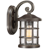 Crusade 1 Light 11 inch Palladian Bronze Outdoor Wall Lantern