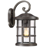 Quoizel CSE8410PN Crusade 1 Light 18 inch Palladian Bronze Outdoor Wall Lantern