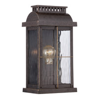 Quoizel Cortland 1 Light Outdoor Wall Lantern in Imperial Bronze CTD8408IBFL