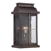 Quoizel Cortland 1 Light Outdoor Wall Lantern in Imperial Bronze CTD8410IBFL