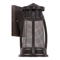Quoizel Lighting Captree 1 Light Outdoor Wall Lantern in Imperial Bronze CTE8306IB