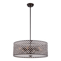Quoizel Catherine 6 Light Foyer Pendant in Imperial Bronze CTN2822IB